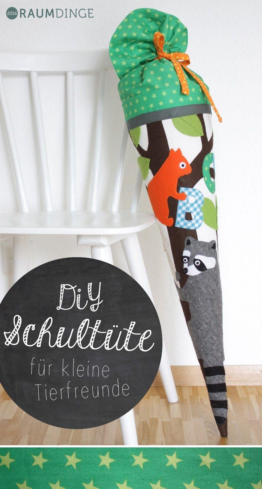 diy schult te f r kleine tierfreunde mit anleitung. Black Bedroom Furniture Sets. Home Design Ideas