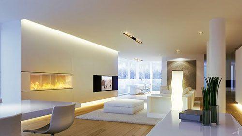 Minimalistische Interieur Inrichting : Minimalistische woonkamers interieur inrichting living