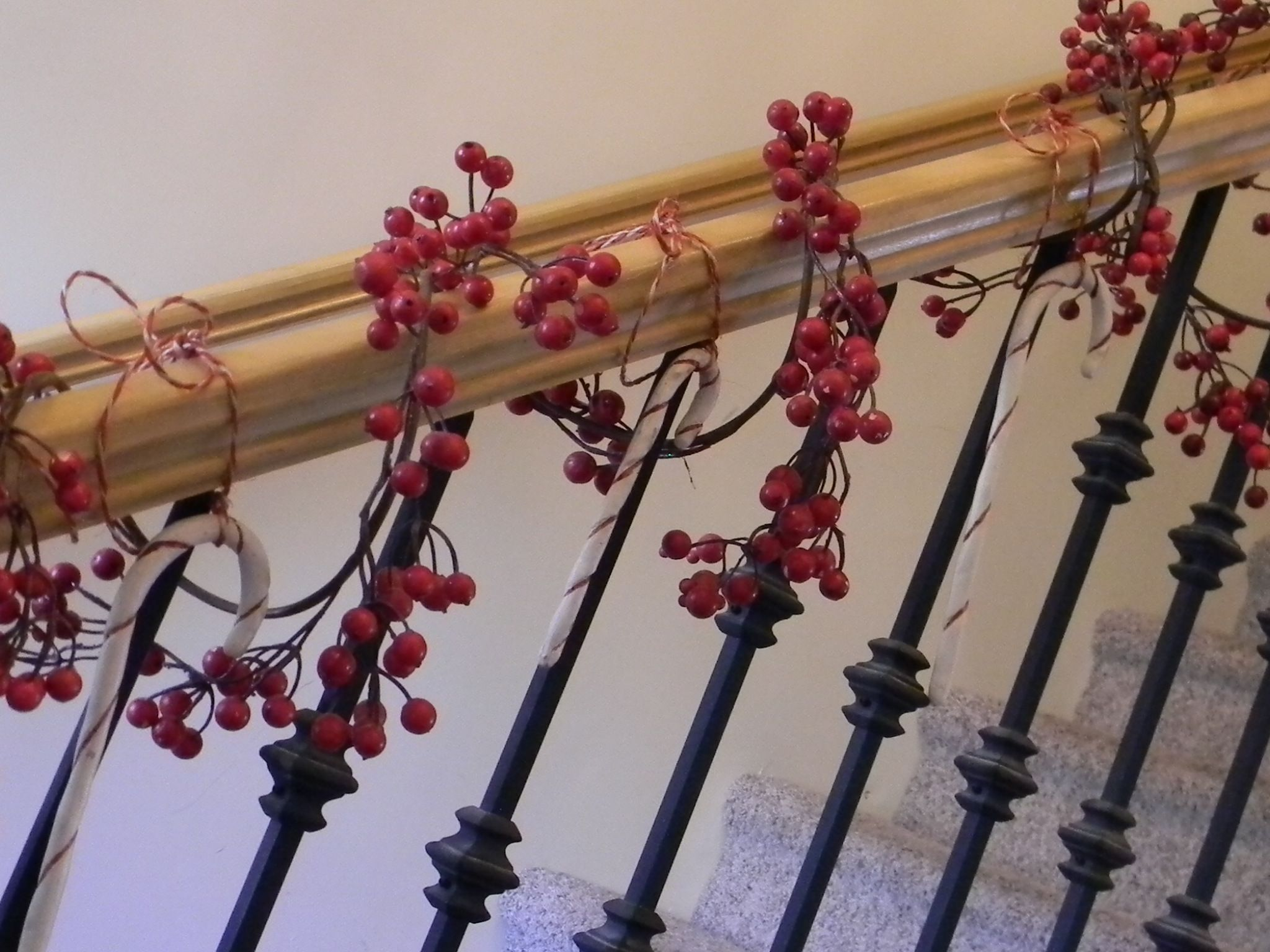 Looking forward to doing my bannister again · Christmas HousesChristmas MantlesChristmas ProjectsChristmas Decorating IdeasHoliday ... & Christmas Home Tour | Banisters Holidays and Christmas stairs