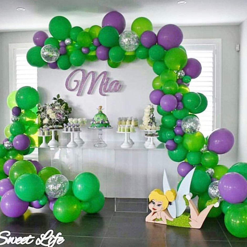 "For The ️of Parties on Instagram: ""Tinker bell themed ..."
