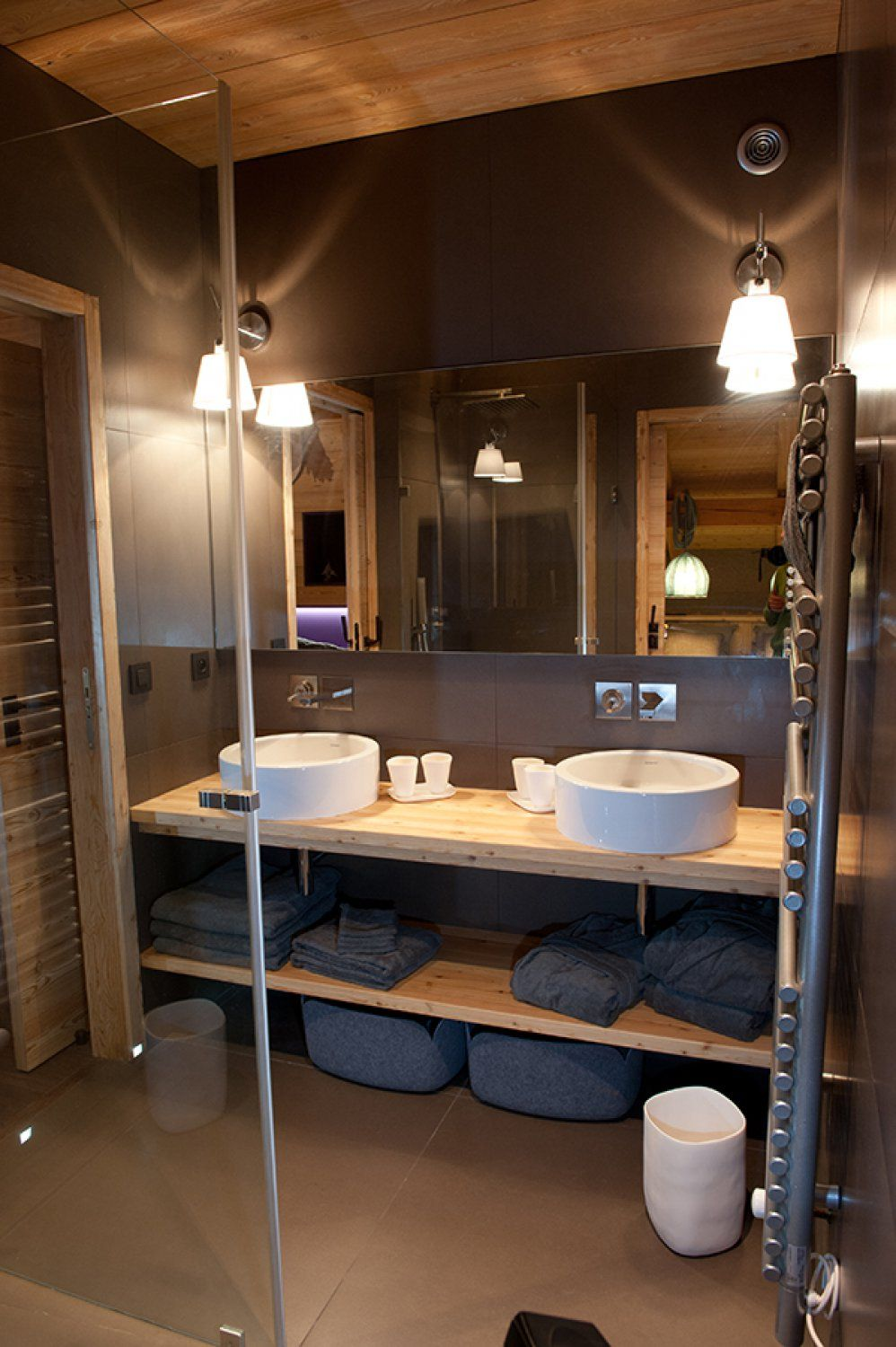 Conception salle de bain design chalet les gets chalets bayrou cottage bathroom - Conception salle de bain ...