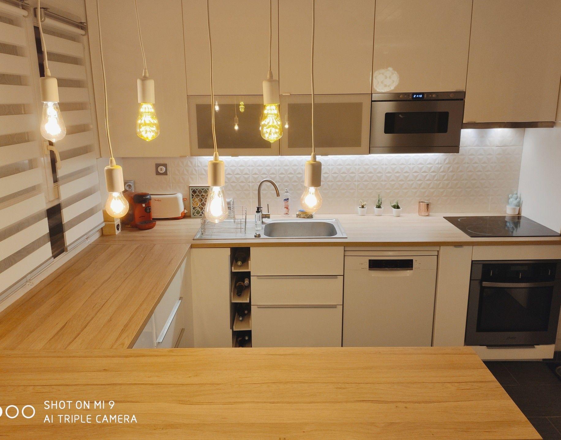 36+ Cuisine ikea blanche et bois inspirations