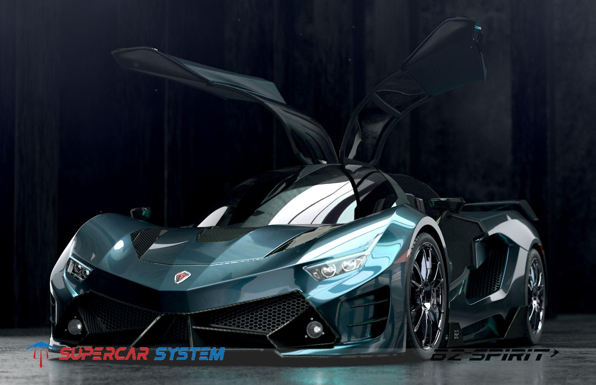 B2 Spirit 004 Super Cars Sports Car System