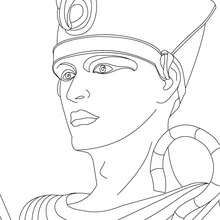 Pharaoh Ramses 2 Coloring Page Coloring Page Countries