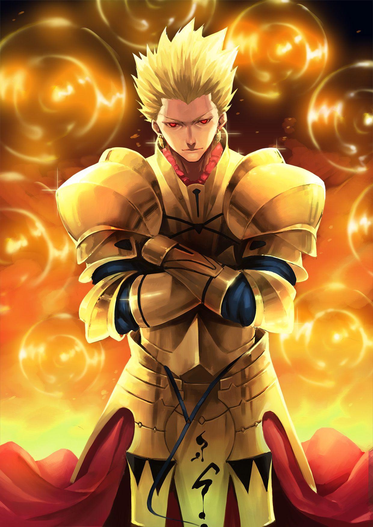 Gilgamesh Gilgamesh Fate Fate Anime Series Fate Characters