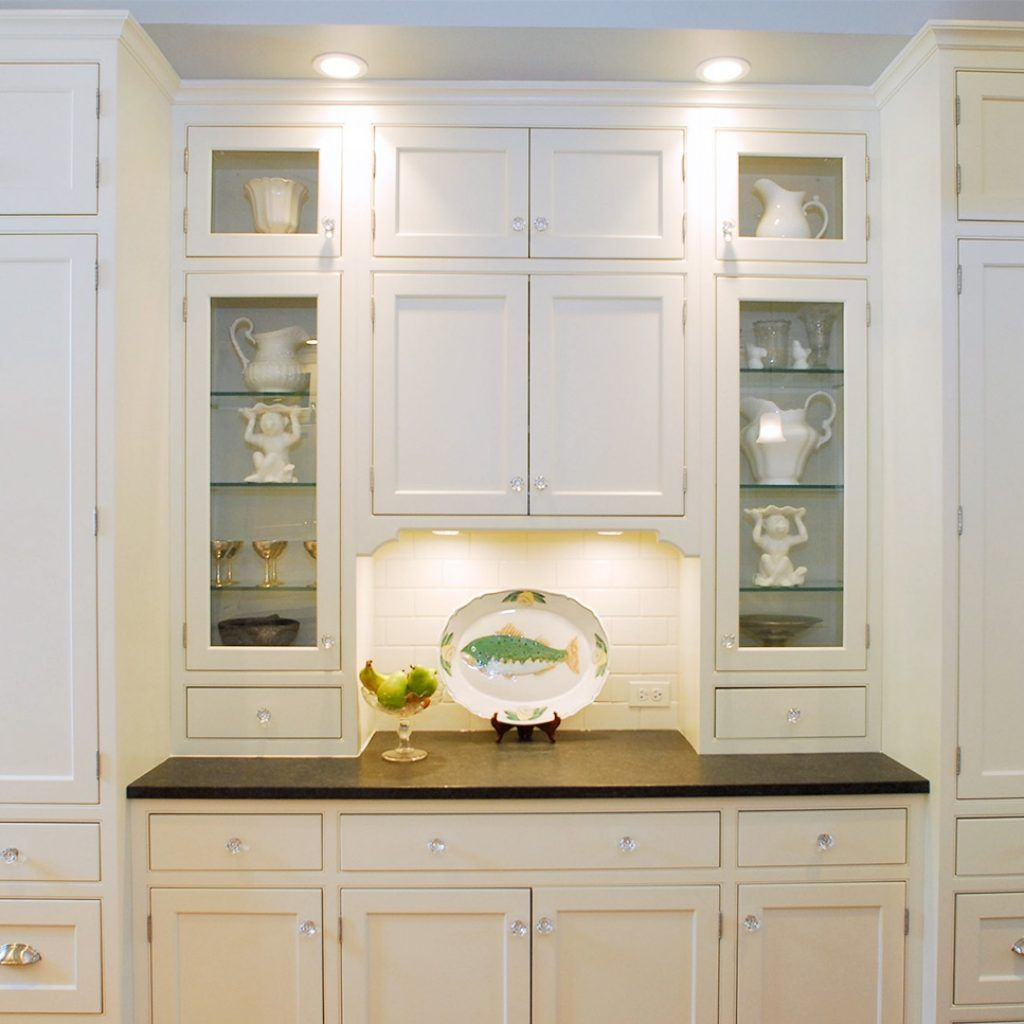 White shaker kitchen cabinets with glass doors kitchen cabinets