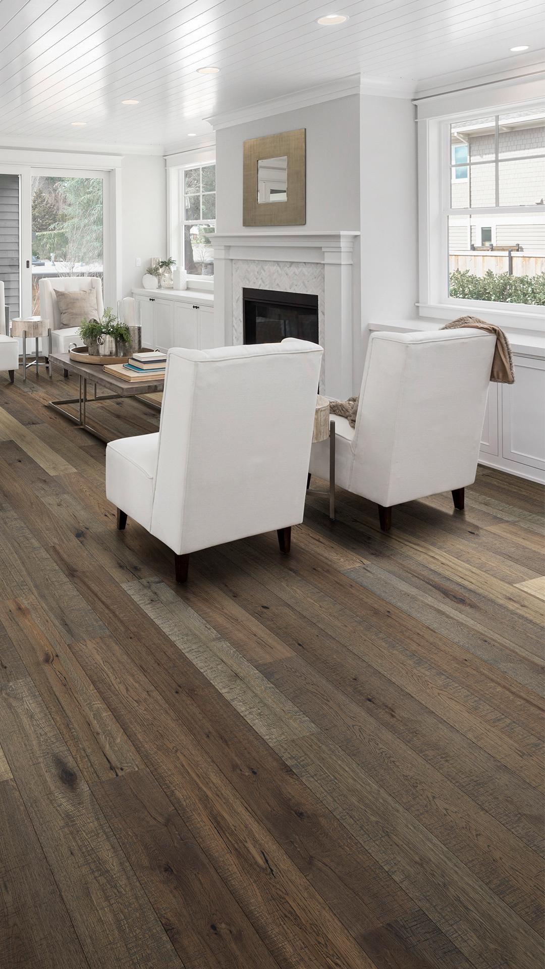 One Living Room Seven Ways Light Grey Hardwood Floors Grey