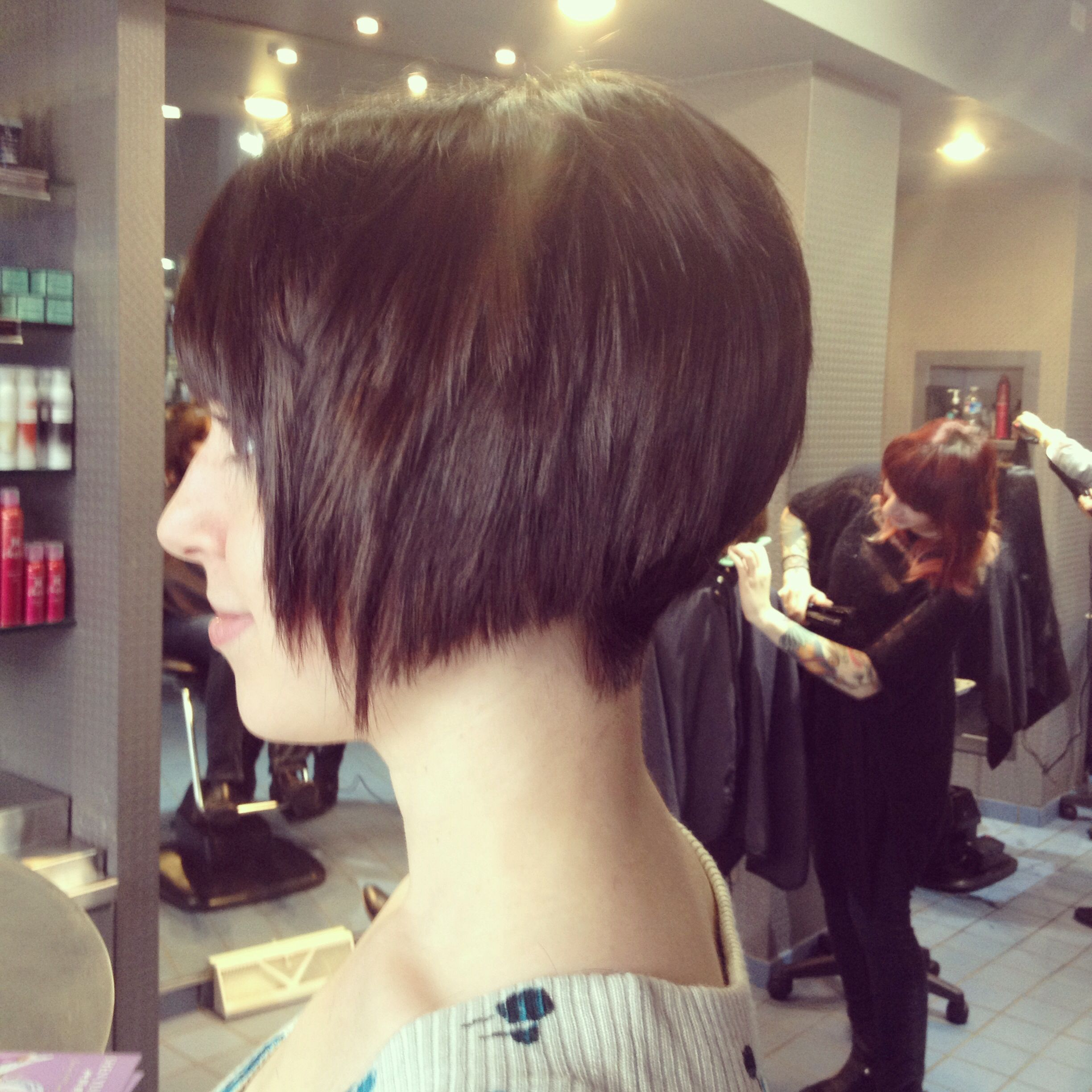 Edgy Stacked Short Haircut Done By Kelsey Schaefer At Richard