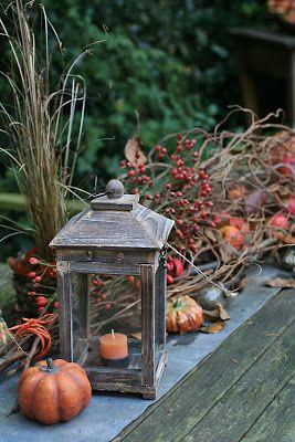 Dekogerumpel Weihnachten Fruhjahr Ostern Herbst Fall Decor Garden Table Autumn Inspiration