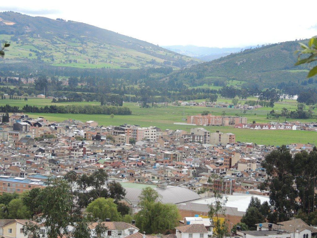 Zipaquira, where you'll find The Salt Cathedral, Colombia | La Catedral de Sal
