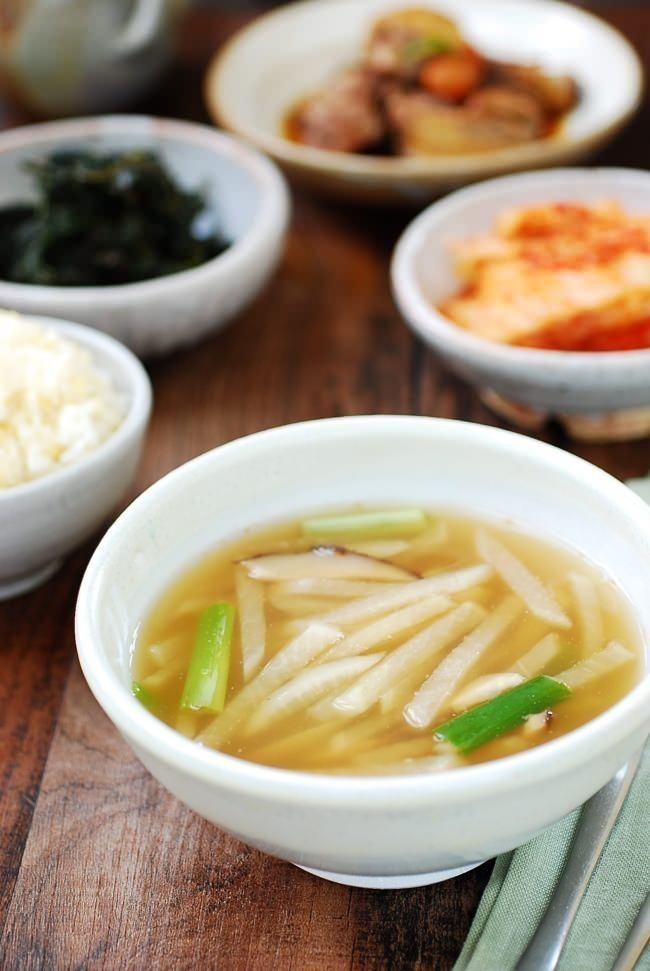 Mu doenjang guk korean soybean paste radish soup vegan light mu doenjang guk korean soybean paste radish soup vegan light and savory koreanfoodrecipes korean food recipes pinterest korean food recipes forumfinder Choice Image
