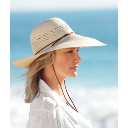 Big-Brim Packable Panama Hat