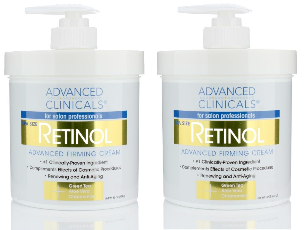 Advanced Clinicals Retinol Cream Spa Size For Salon Professionals Moisturizing Formula Penetrates Skin To Erase The Appearance Of Fine Lines Wrinkles Fragr In 2020 Retinol Cream Retinol Fragrance Free Products