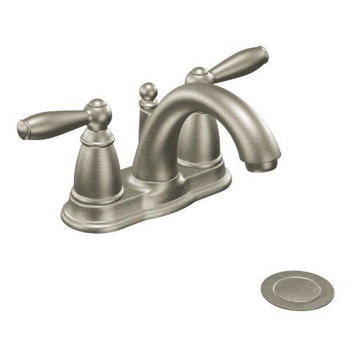 Bathroom Faucets Diy Moen Ca6610bn Brantford Twohandle Low Arc