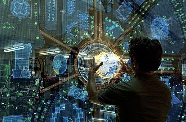 interactive, gesture control, AR display. Problem ... Iron Man Holographic Computer