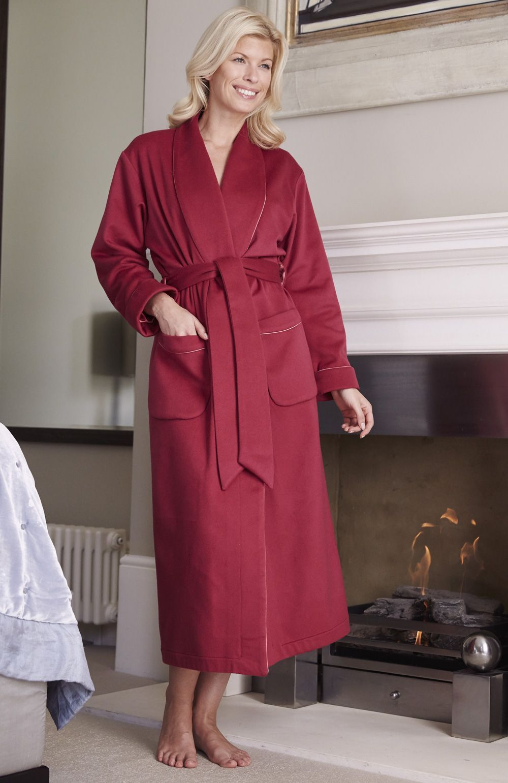 b071d36b32 Luxury Ladies Cashmere Robe. Made from the most luxurious Italian cashmere