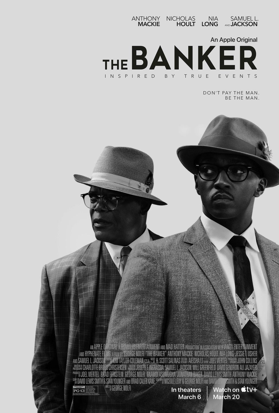 The Banker Film Histoire Vraie Lutte Anti Raciale Samuel L Jackson Anthony Mackie Full Movies Online Free Movies