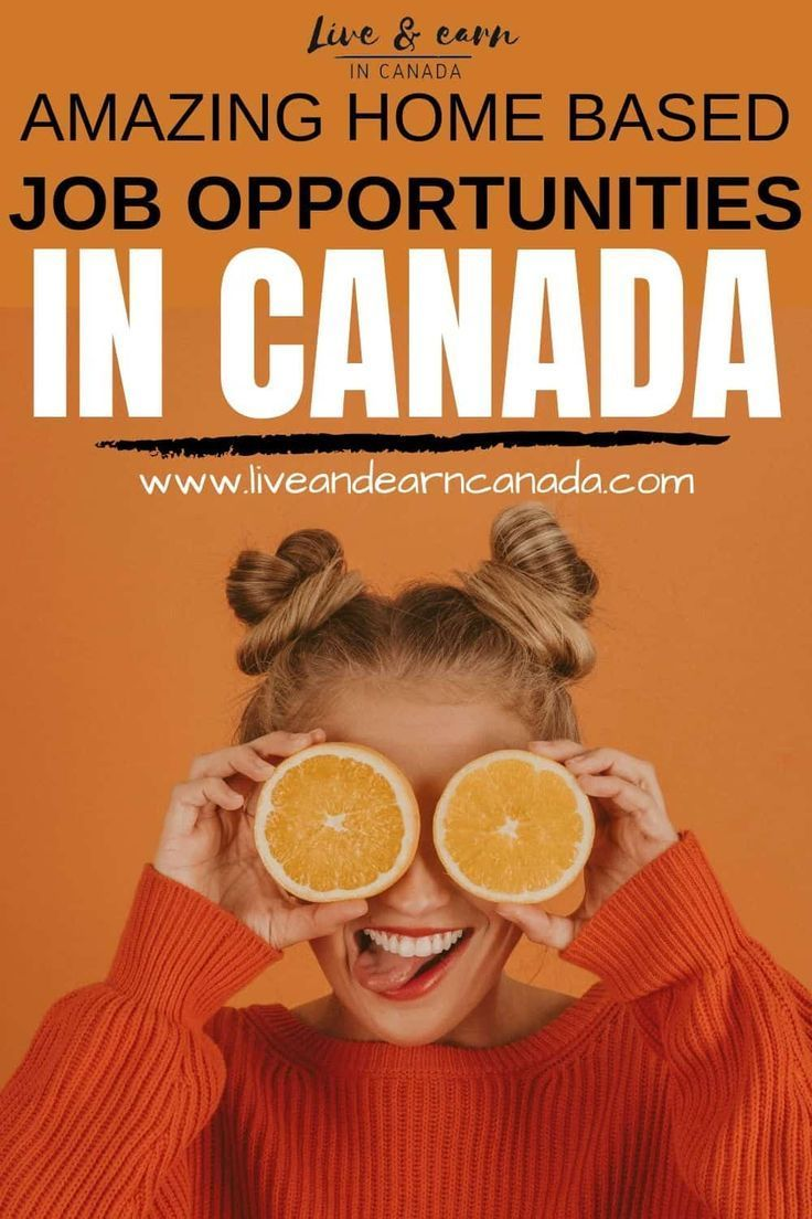 Here are a few job opportunities in Canada that you can do