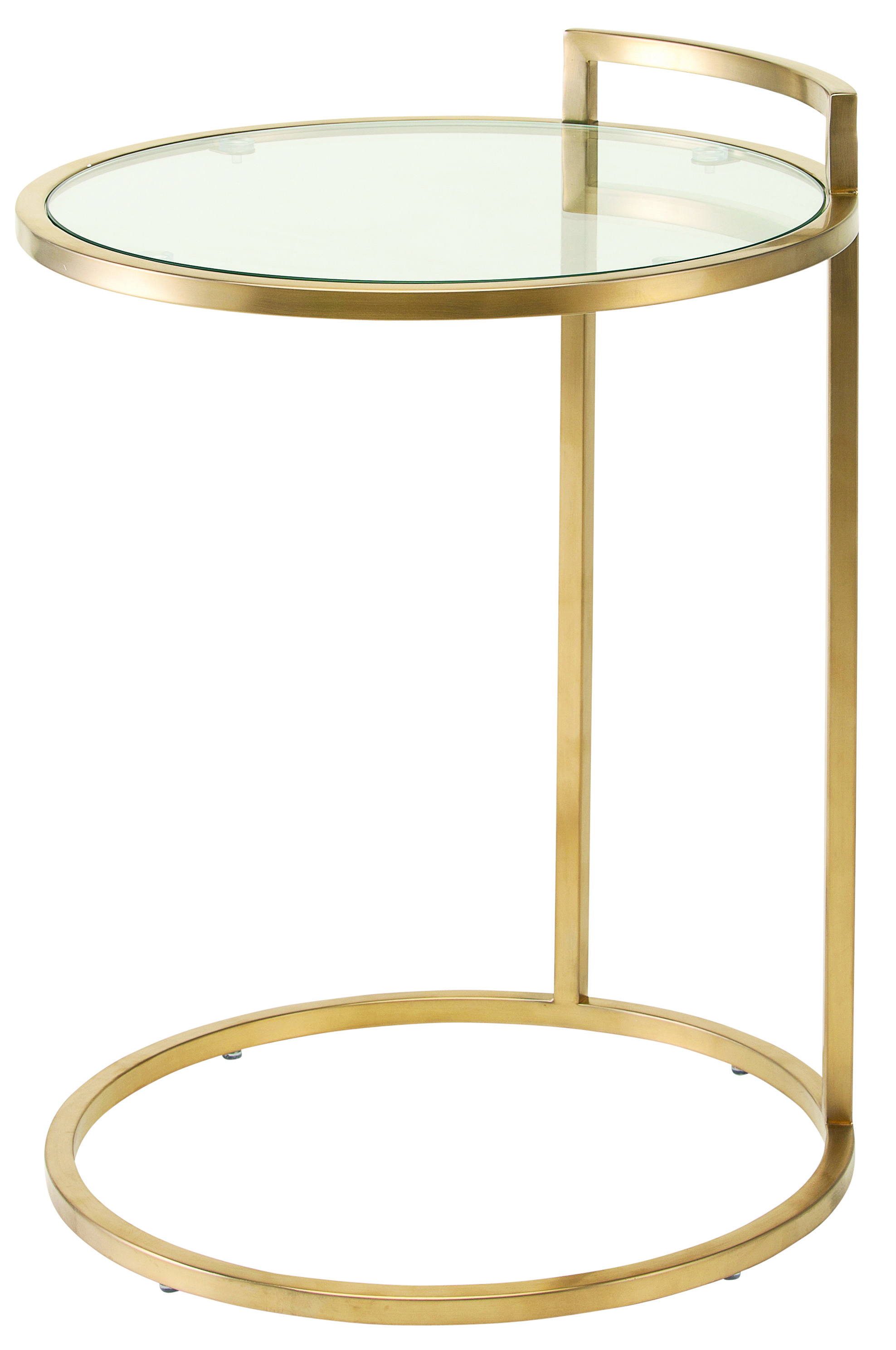 Bella Side Table Gold With Images Glass Side Tables Side