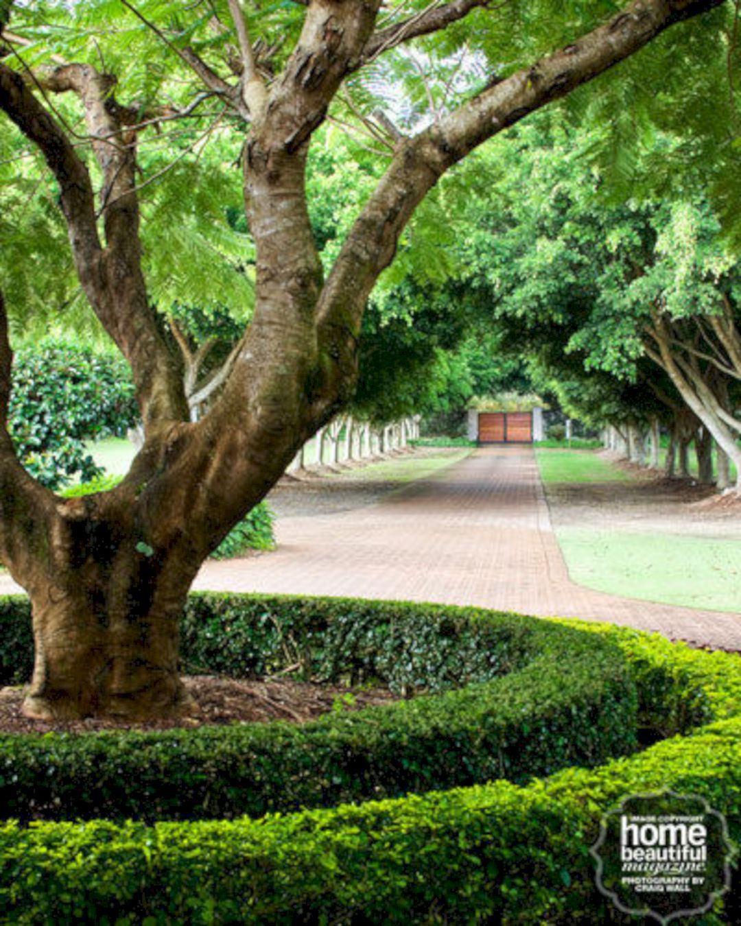 The Best 50+ Beautiful Long Driveway Landscaping Design ...