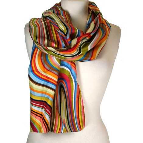 printed scarf - Multicolour Paul Smith Z0UaXibuJ