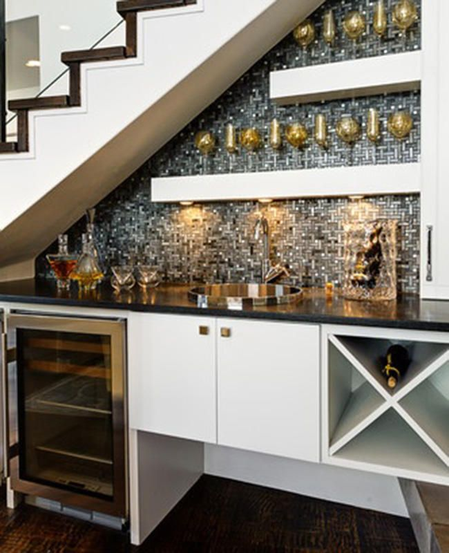 7 Creative Ways To Use The Space Under Your Stairs