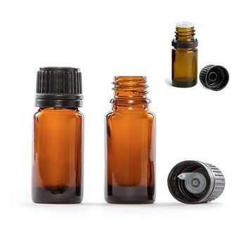 10ml Amber Glass Round Bottles W Dropper Caps Per Each Essential Oil Bottles Amber Bottles Amber Essential Oil