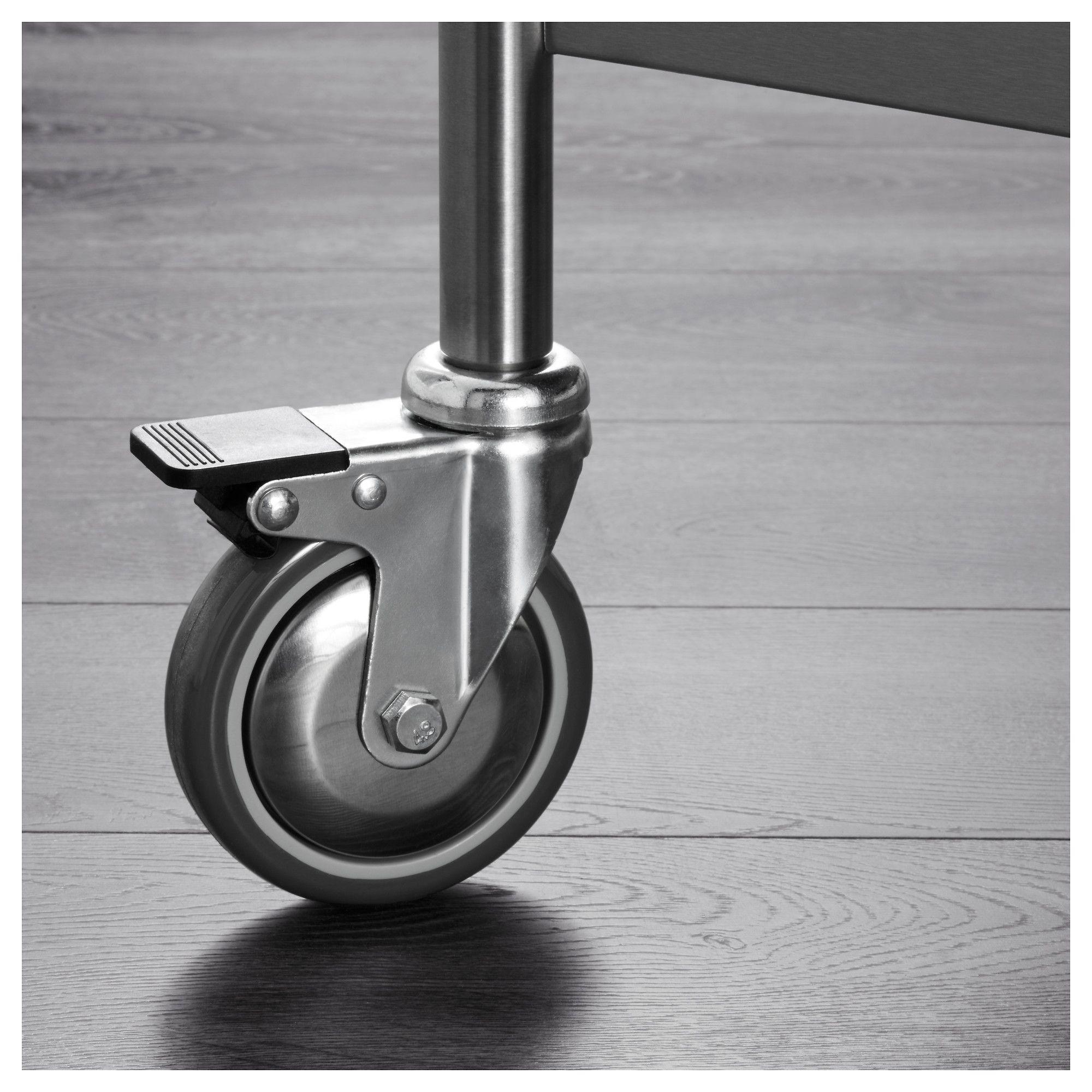 Ikea Flytta Kitchen Cart Stainless Steel Products Ikea