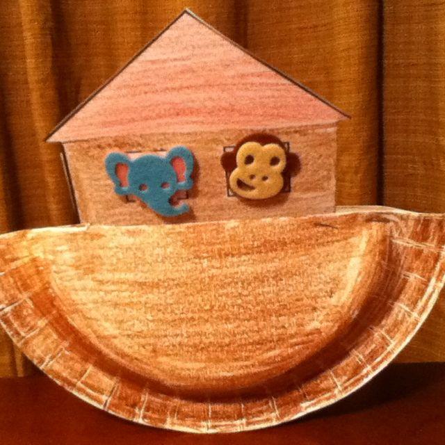 noah\'s ark craft- using in my preschool sunday school class. got the ...