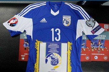 sale retailer 237ae 0ff93 Cyprus 2014/16 adidas Home Kit | Soccer Jerseys | Football ...