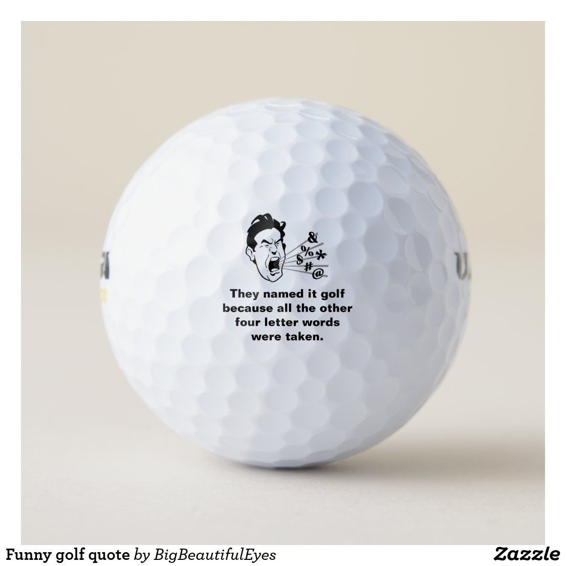 Pin On Funny Golf Balls Sayings Imprinted