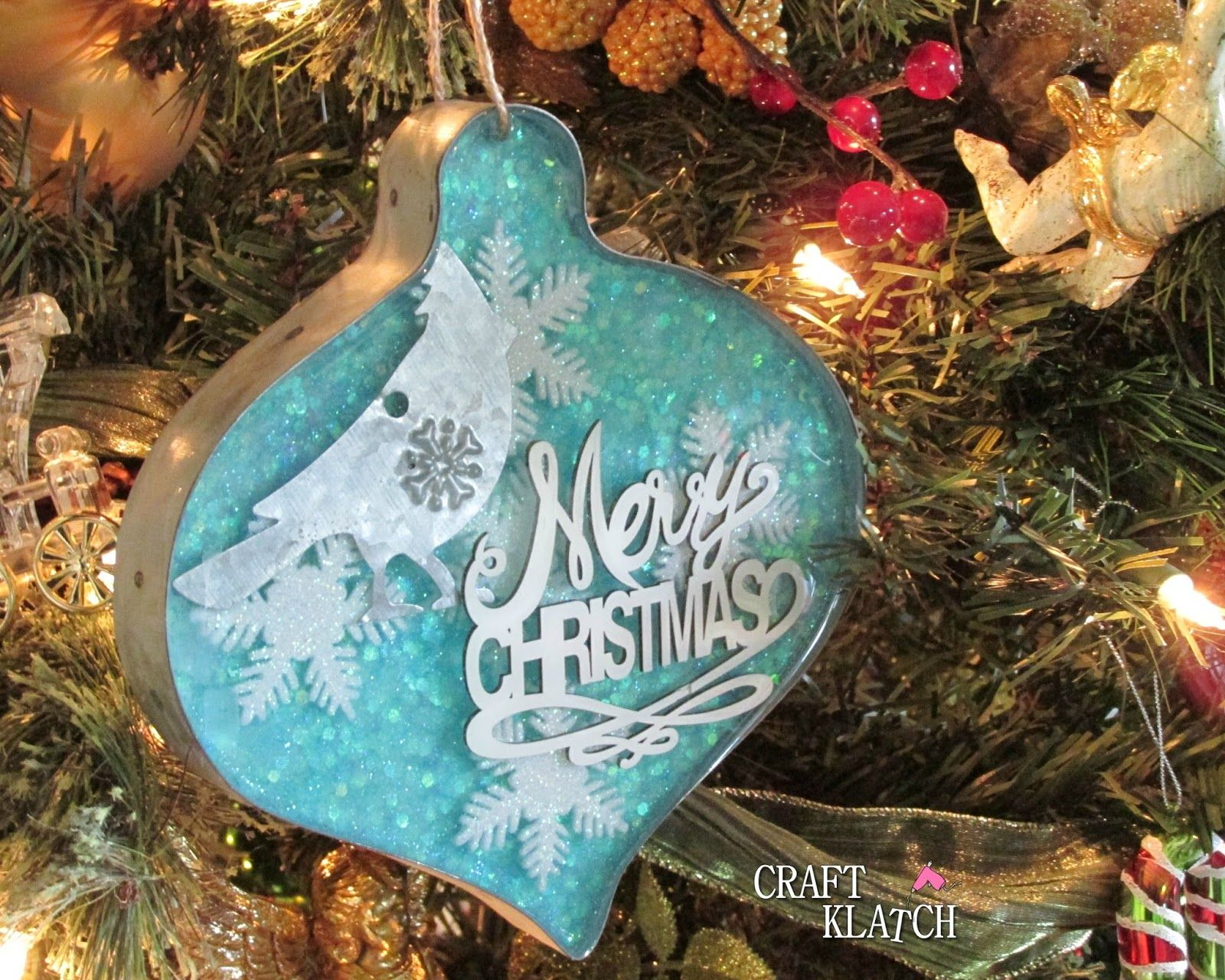Resin Christmas Ornaments.Craft Klatch Resin Crafts Christmas Ornament Crafts