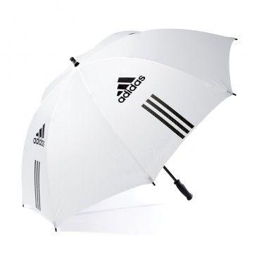 "Adidas Golf 60"" Single Canopy Umbrella N52980 - White/black"
