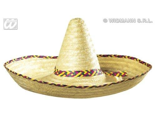 Mini Mexican Sombrero Black Felt Hat Fancy Dress Fiesta Costume Spanish