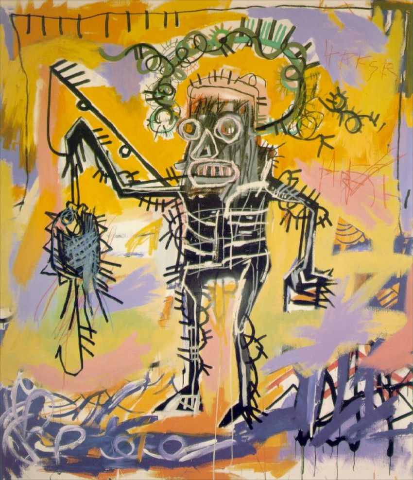 Jean-Michel Basquiat most famous paintings | Manhattan museums ...