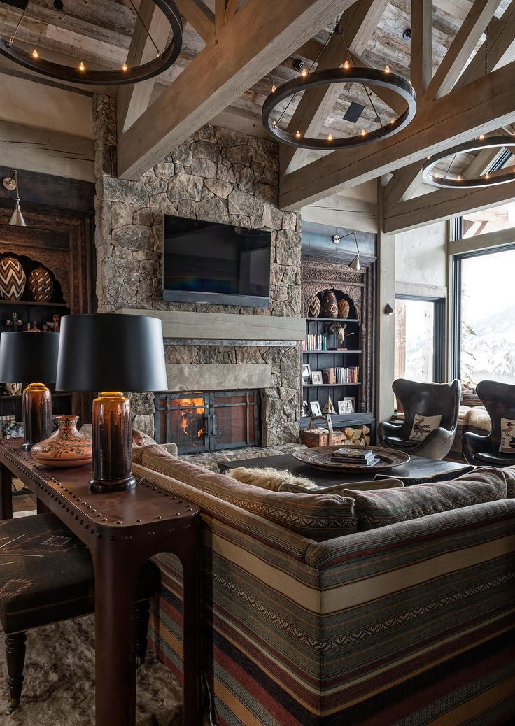 Image Result For Viking Themed House Rustic Living Room