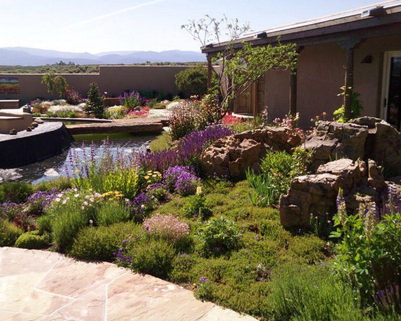 Nice Southwestern Garden Patio Style   Best Patio Design Ideas