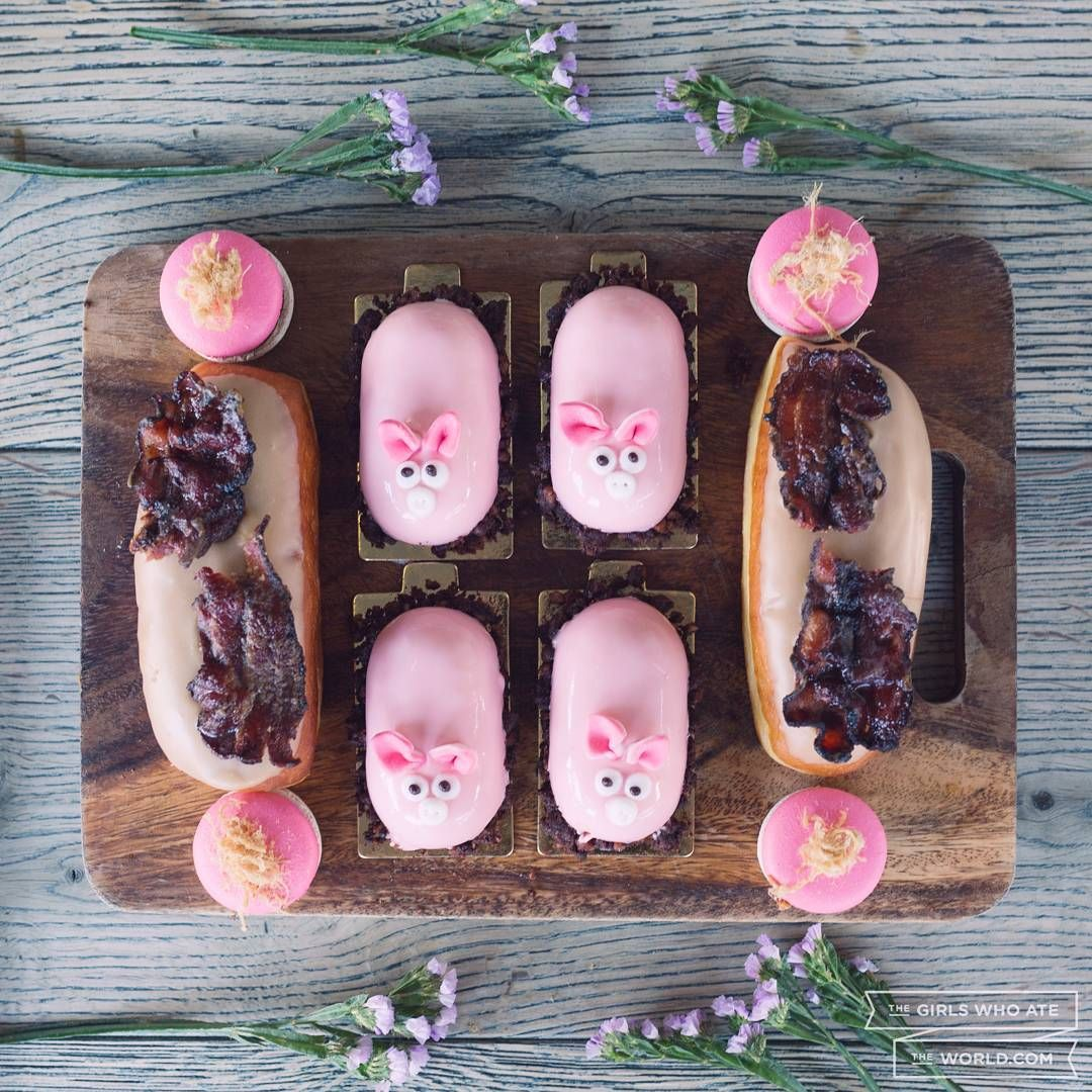 """Brewery Yard Markets   """"... And this little piggy went to @baconbrewfest_  can't wait to get   grubby fingers on these bad boys on February 27th at the @textbookpatisserie…"""""""