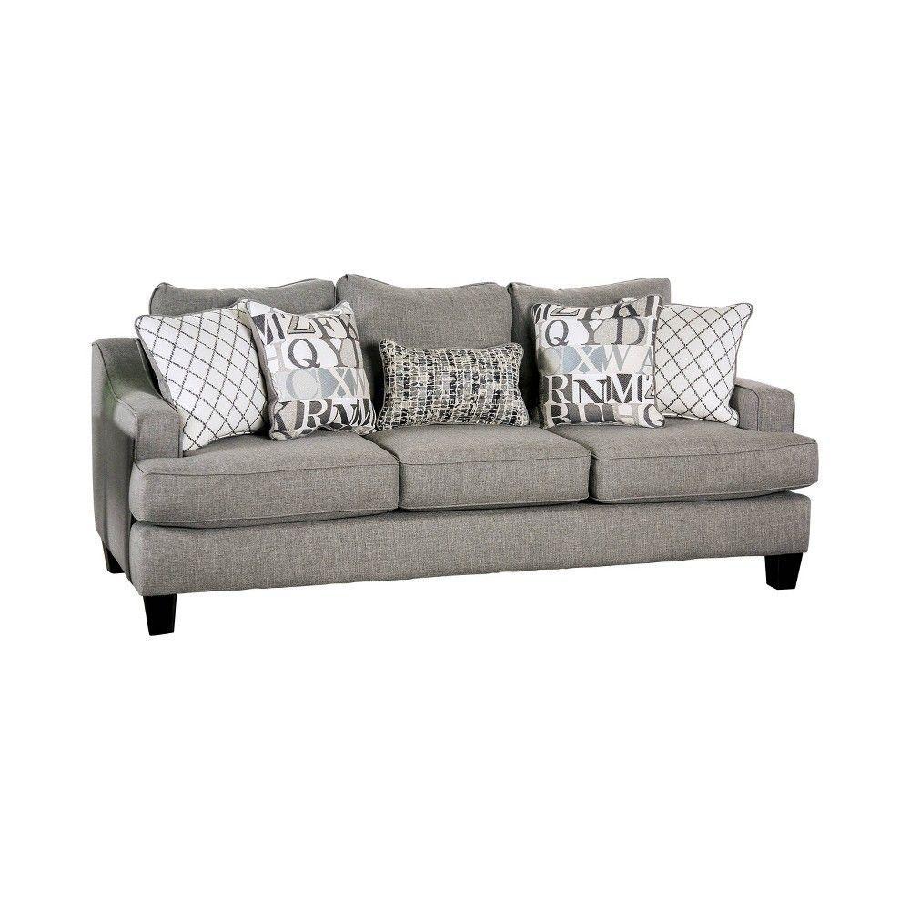 Stayton T Cushion Sofa Bluish Gray
