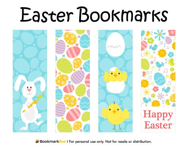 Printable Easter Bookmarks Easter Printables Free Christmas Bookmarks Bookmarks Kids