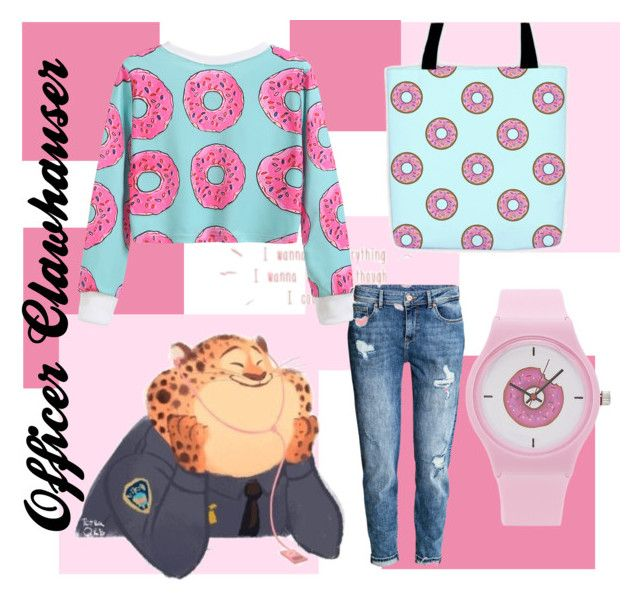 """""""DONuTs"""" by ainslynn on Polyvore featuring H&M and Forever 21"""