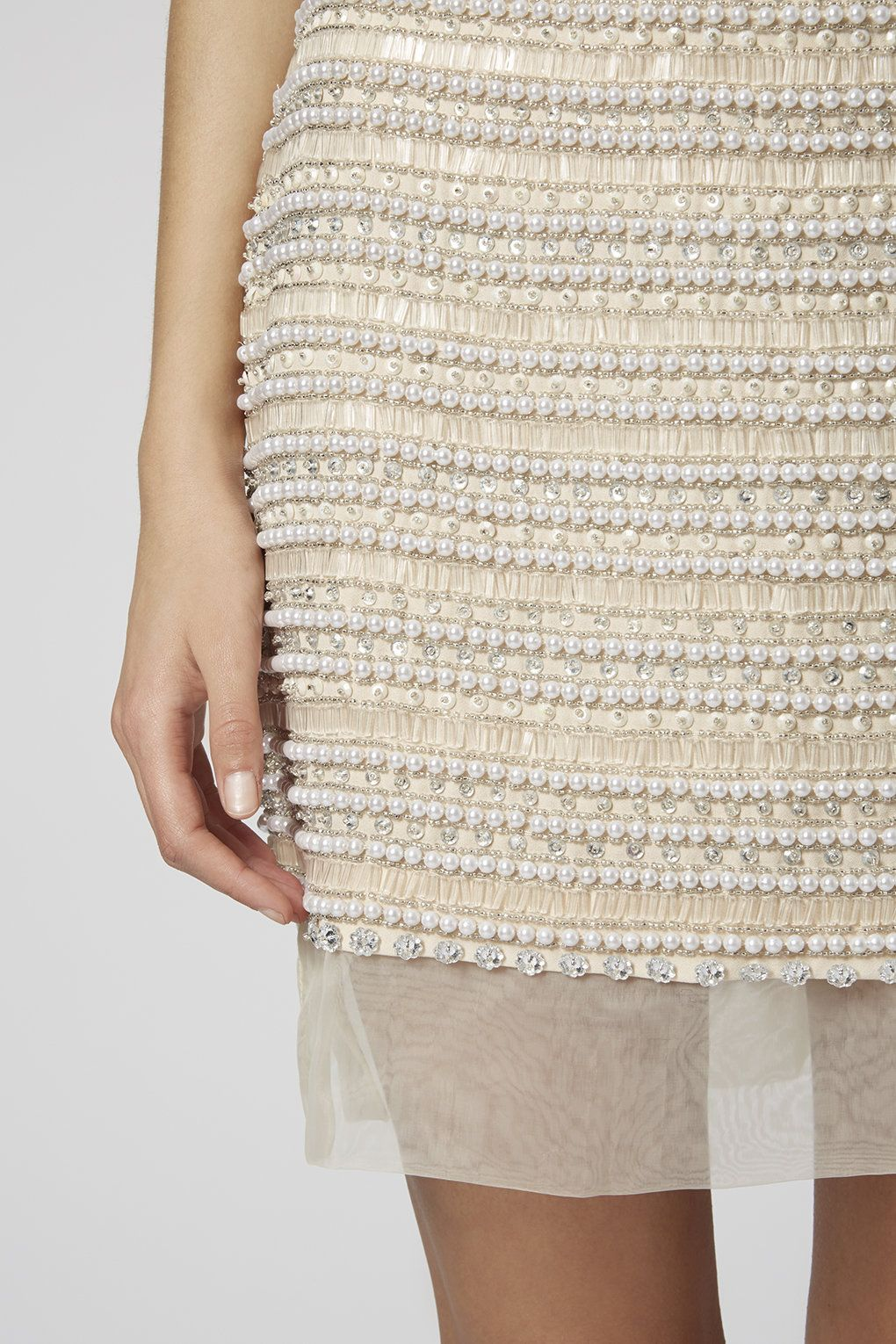 Limited Edition Diamante Pearl Skirt