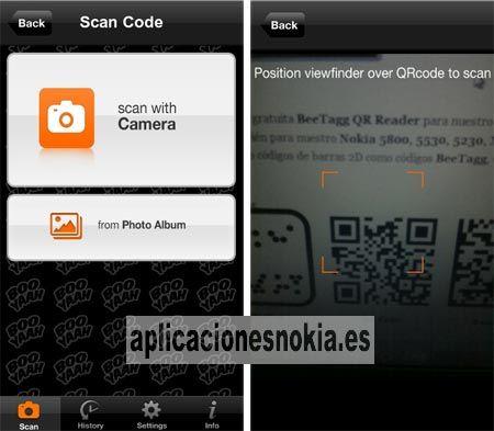 QR Scanner para Nokia N8 / C7 / C6-01 / E7 / 603 / 701 http://www.aplicacionesnokia.es/qr-scanner-para-nokia-n8-c7-c6-01-e7-603-701/
