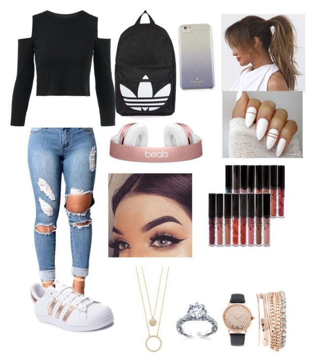 liked on Polyvore featuring adidas