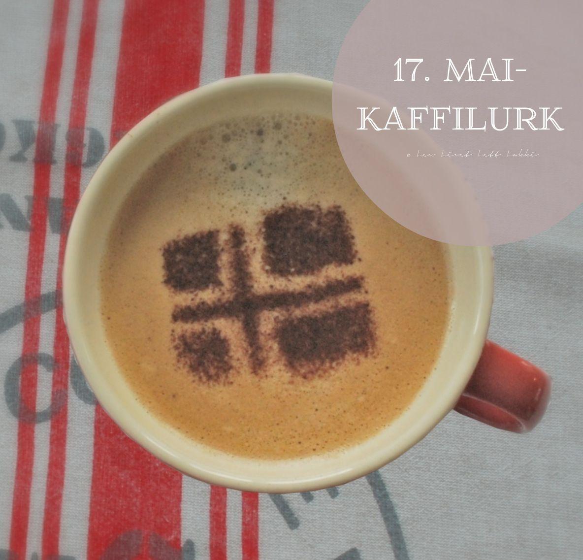 17. mai pynt: 17. mai kaffilurk © Lev Livet Lett Lokki