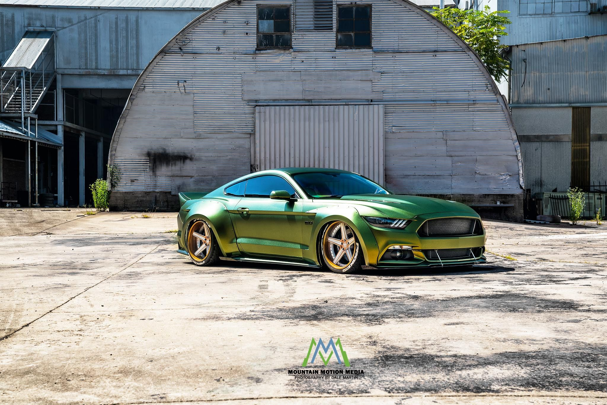 Exotic Expression Stanced Mustang On Stylish Wheels Carid