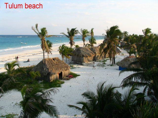Beach Bungalows Tulum The Best Beaches In World