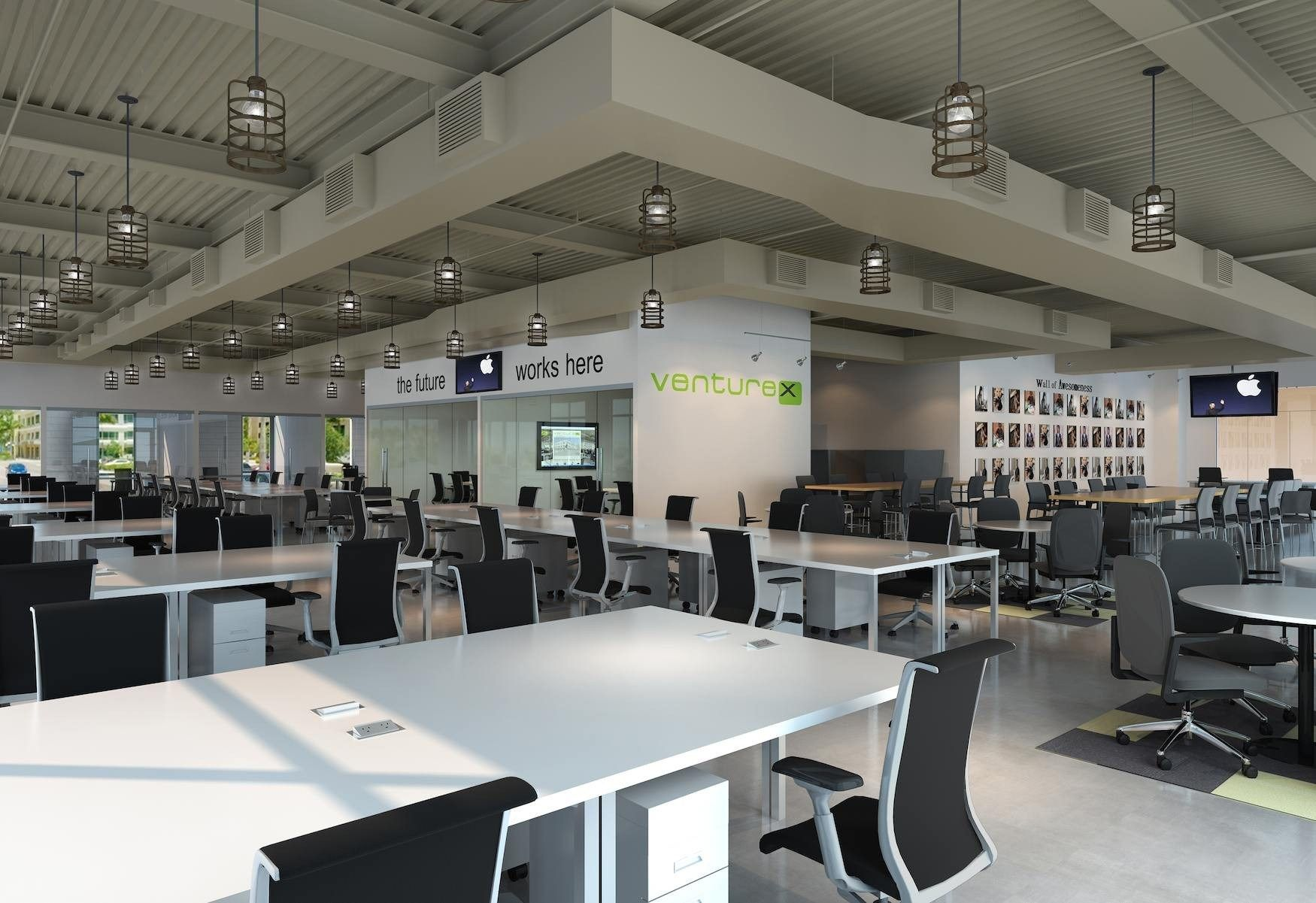 Beautiful Modern Industrial Office Design Workspaces  Creative Maxx Ideas