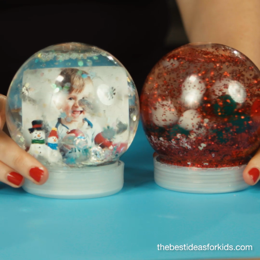 How to Make a Snow Globe #sensorythings