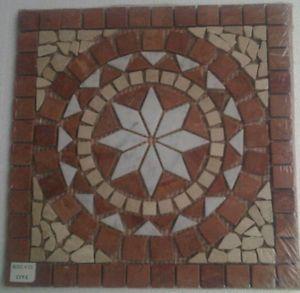 MUSTER Marmor Mosaik Fliesen Rosso Verona